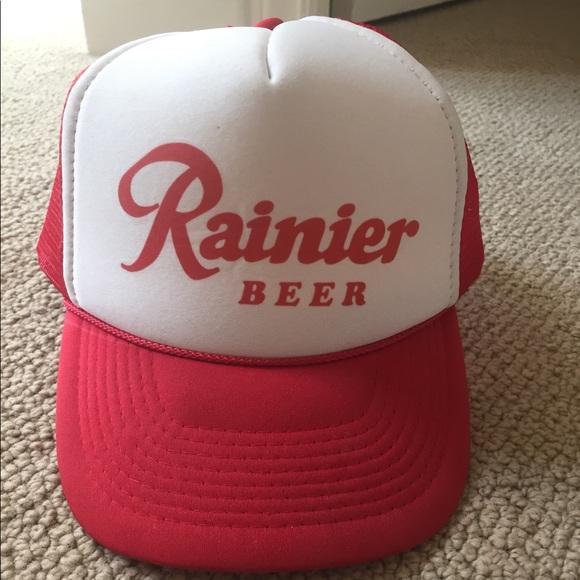 Accessories - Rainier Beer trucker hat b0035dd5a35